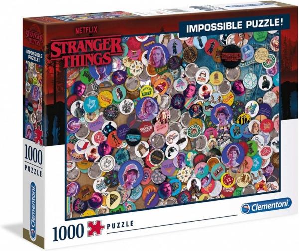 Puzzle 1000 elementów Impossibile Netflix Stranger Things (39528)
