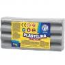 Plastelina Astra, 1 kg - popielata (303111023)
