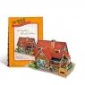PUZZLE 3D Domki świata  Niemcy (W3128H)