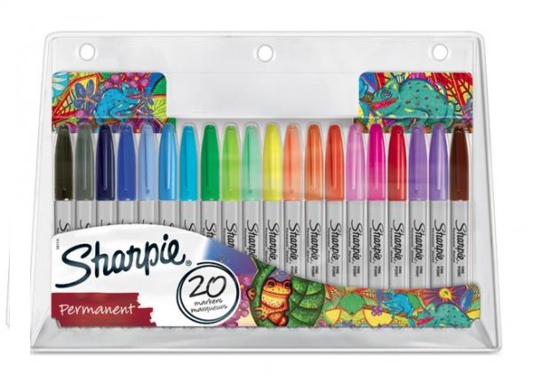 Markery Sharpie Fine kpl 20-kol (SHP-2061128)