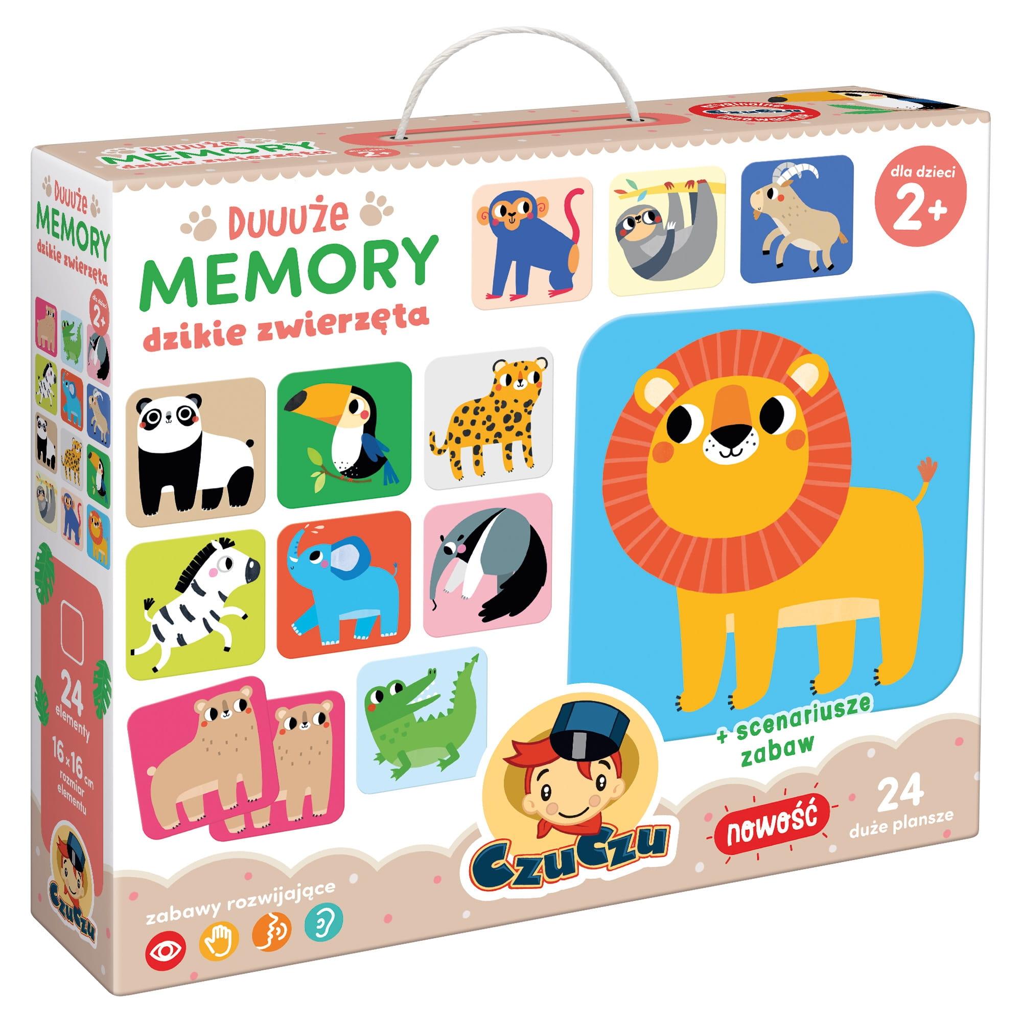 Duuuże memory - Dzikie zwierzęta