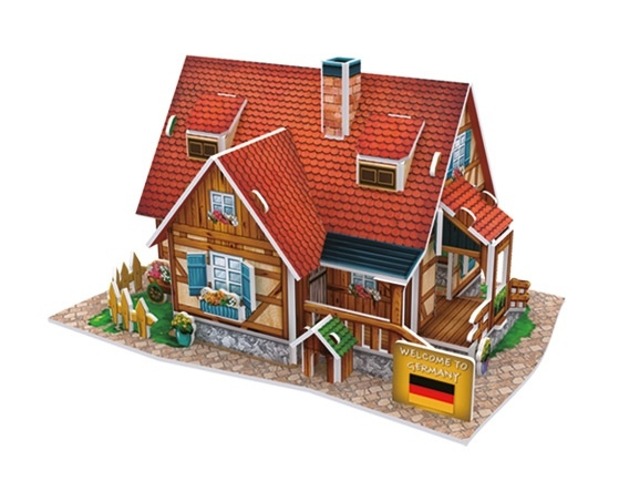 Puzzle 3D: Domki świata - Niemcy, Rural Cabin (306-23128)