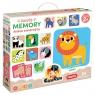 Duuuże memory - Dzikie zwierzęta Wiek: 2+