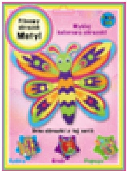 Obrazek filcowy motyl