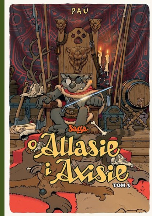 Saga o Atlasie i Axisie Tom 3 Pau