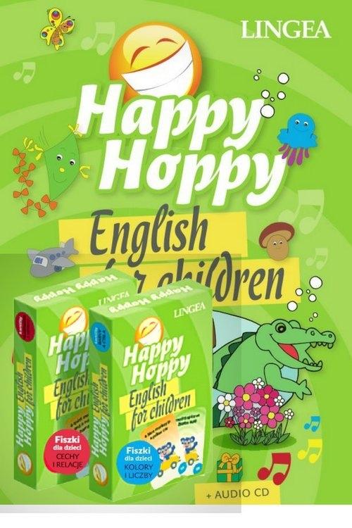 Happy Hoppy Pakiet edukacyjny dla dzieci do nauki języka angielskiego Beláňová Janka