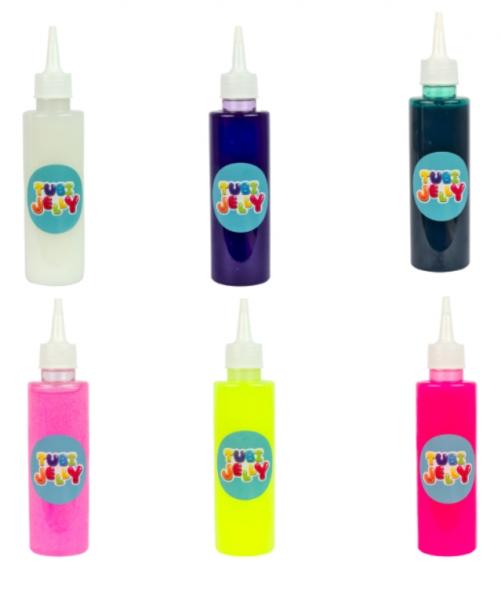 Zestaw Tubi Jelly 6 kolorów + małe akwarium – Jednorożec (TU3328)