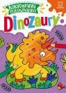 Kolorowanki przedszkolaka Dinozaury