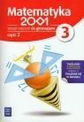 Matematyka 2001 3 Zeszyt ćwiczeń Część 2Gimnazjum
