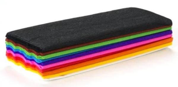 Bibuła marszczona 10 kolorów (HA 364 2520-MIX)