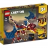 Lego Creator: Smok ognia (31102) Wiek: 7+