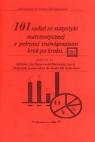 101 zadań ze statystyki matematycznej z pełnymi rozwiązaniami krok po kroku