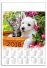 Kalendarz plakatowy Przyjaciele A1 2018