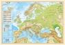 Mapa podkładka Europa polityczno-fizyczna 1:12 000 000