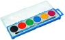 Farby akwarelowe szkolne 6 kolorów