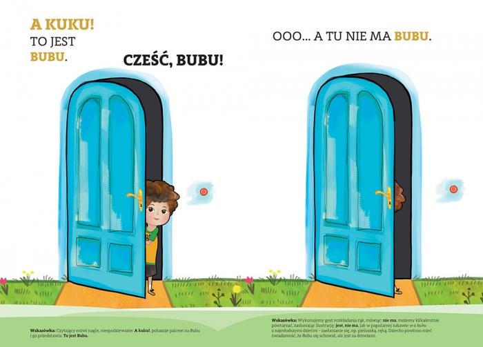 Bubu uczy się mówić A kuku! Buszkiewicz Anna M.