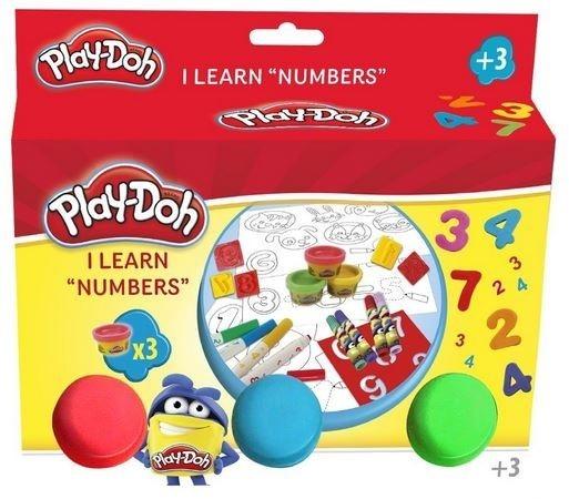 Play-Doh Zestaw Uczę się cyferek (CPDO025)