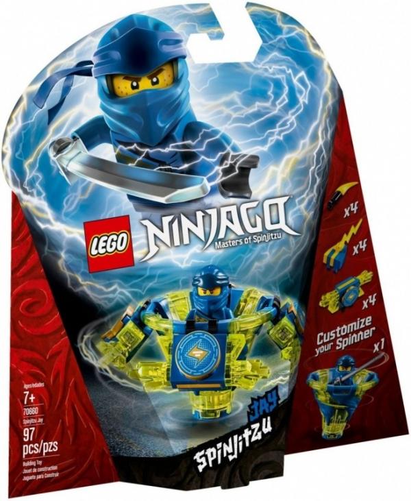 Klocki Ninjago Spinjitzu Jay (70660)