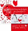 Karnet B6 Gift Walentynka Mix B6 GIFT WALENTYNKA