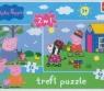 Świnka Peppa Puzzle 24 i 48 (34128)