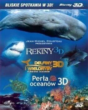 Bliskie spotkania w 3D (zestaw 3 filmów) (Blu-ray)