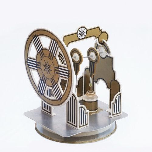 Silnik Stirlinga zestaw do samodzielnej budowy