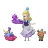 Disney Princess Mini Laleczka z przyjacielem Kopciuszek