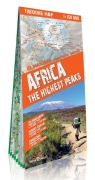 Africa the highest peaks 1:150 000 trekking map