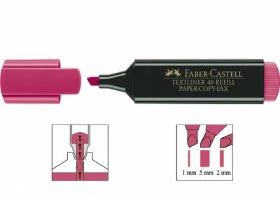 Zakreślacz Textliner 48, różowy (154828)