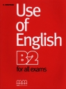 Use of English B2 for all exams Moursou E.