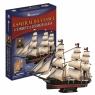 Puzzle 3D Żaglowiec Esmeralda 306