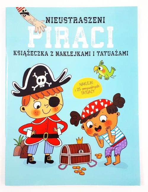 Książeczki z naklejkami i tatuażami - Piraci