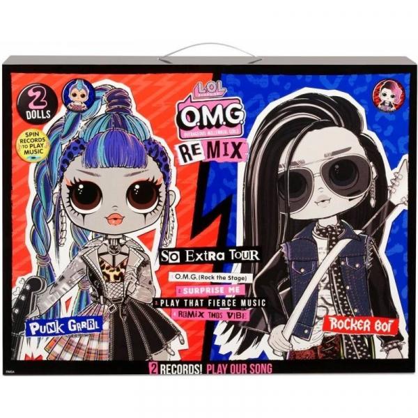 Lalki L.O.L. Surprise OMG Remi x 2-pack (567288E7C)