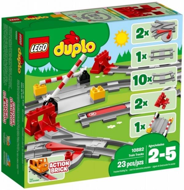 Lego Duplo: Tory kolejowe (10882)