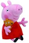 Maskotka Beanie Babies: Świnka Peppa - Peppa 15 cm (46128)