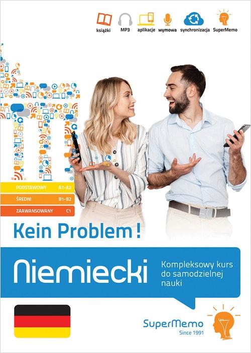 Niemiecki Kein Problem! Kompleksowy kurs A1-C1 do samodzielnej nauki (poziom podstawowy, średni Trambacz Waldemar