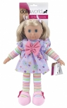 Lalka przytulanka Lucy 36 cm fioletowa