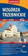 Mapa turystyczna - Wzgórza Trzebnickie 1:50 000