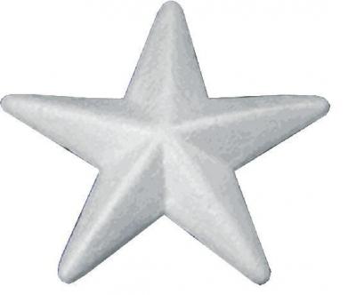 Gwiazdka ze styropianu 10cm.12szt BGW-10