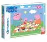 Clementoni, puzzle Maxi 24: Świnka Peppa (24028)
