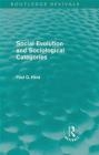 Social Evolution and Sociological Categories Paul Q. Hirst