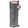 Piórnik tuba Barbie różowo-szary