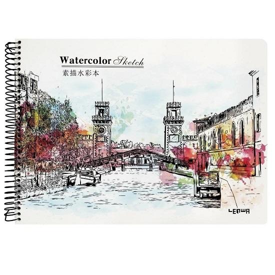 Kołoszkicownik incood. A4/24k, 160gsm - Watercolor Sketch