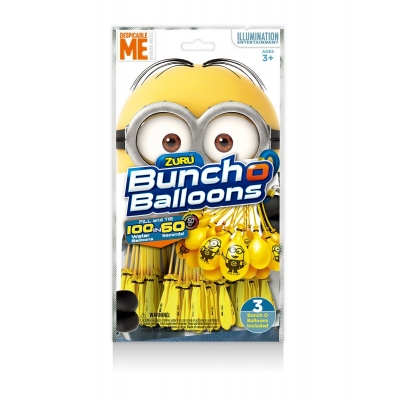 Buncho Balloons Minions 3 pak