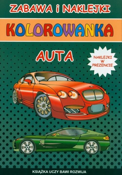 Kolorowanka Auta Tonder Krzysztof