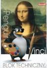 Blok techniczny A4/10K 10 szt. Penguin
