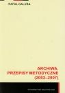Archiwa Przepisy metodyczne (2002-2007) Galuba Rafał