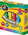 Plastelina AS, 6 kolorów Astra (303219001)