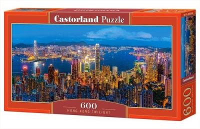 Puzzle Hongkong Twilight 600 (B-060290)