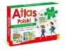 Atlas Polski - Atlas+Plakat z mapą+Puzzle